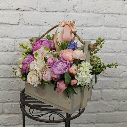 "Коробка ""Поэзия"": букеты цветов на заказ Flowwow"