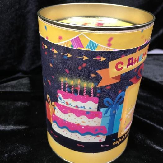 Горячий шоколад С днем рождения