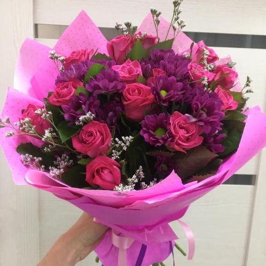 Ванесса - Розы и Хризантемы