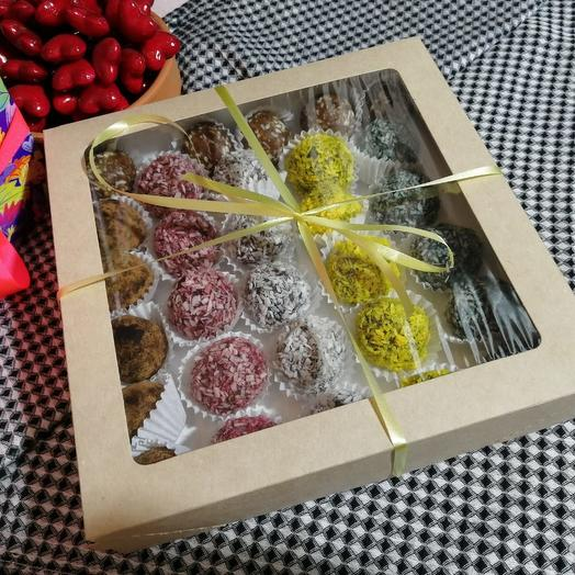 Ассорти raw-конфет (30шт)