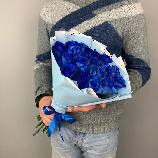 Букет «Синие розы»