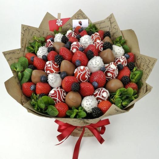 Букет Шоколадный узор
