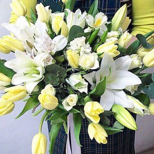 Tulips And Lilies