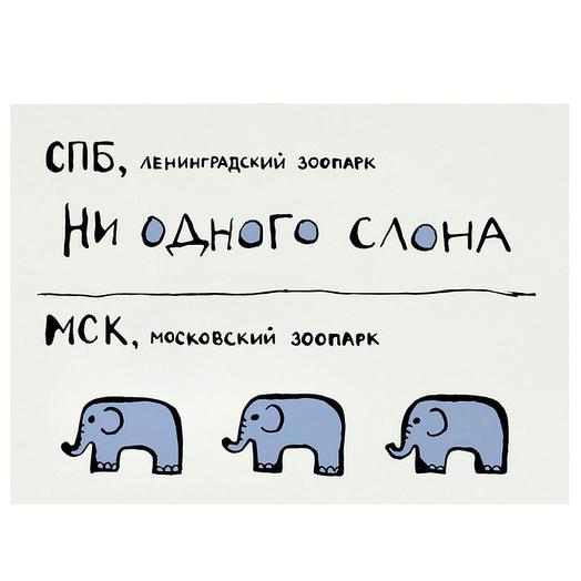 "Карточка ""Слоны"""