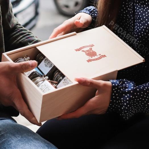 Подарочный набор для любителей чая и чайной культуры - Чай в бугелях (6 вкусов)