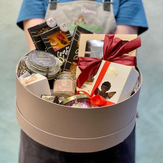 Большой подарочный набор  с  Медом Peroni, шоколадом и специями🖤