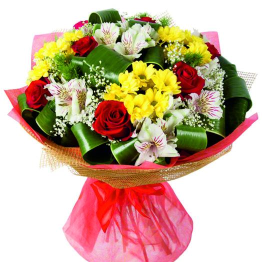 Букет Осенний поцелуй: букеты цветов на заказ Flowwow