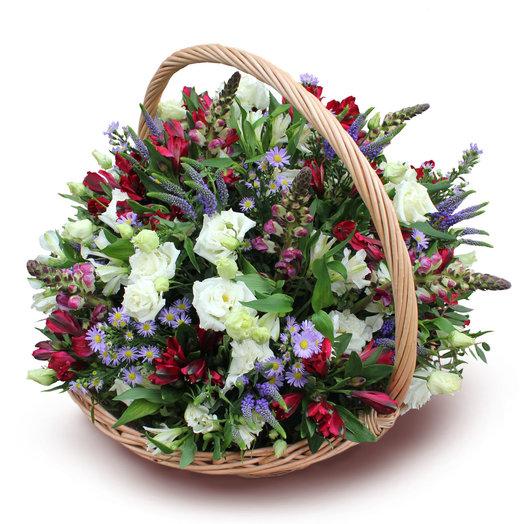 Торжество лесной полянки: букеты цветов на заказ Flowwow