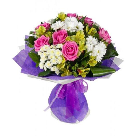 БЦ-160117 Ксюша: букеты цветов на заказ Flowwow