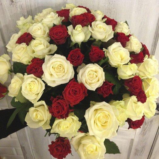 Страстная нежность: букеты цветов на заказ Flowwow