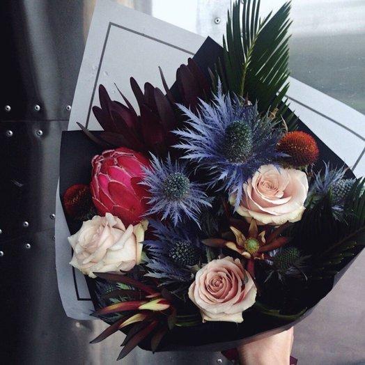 Тропический: букеты цветов на заказ Flowwow
