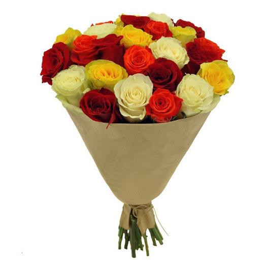 Акция 25 роз : букеты цветов на заказ Flowwow