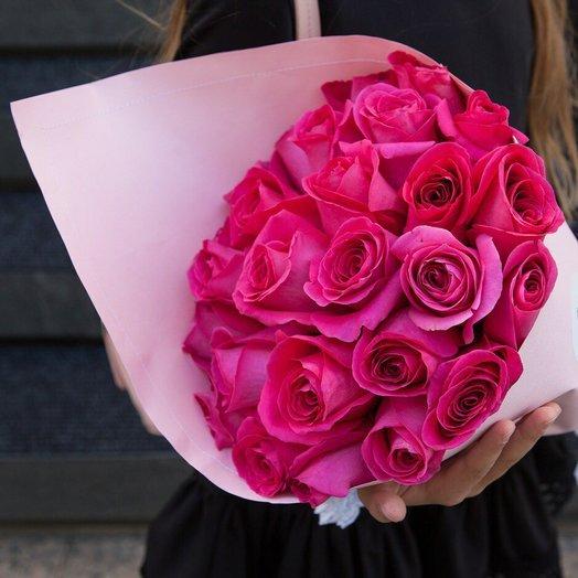 Букет розовых мечтаний: букеты цветов на заказ Flowwow