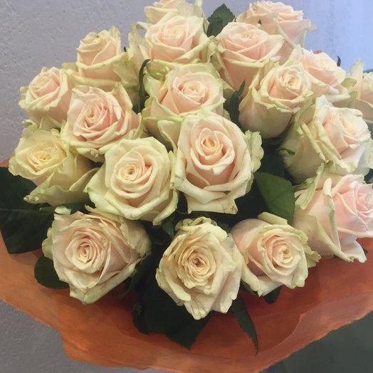 Роза Талея 19 шт: букеты цветов на заказ Flowwow