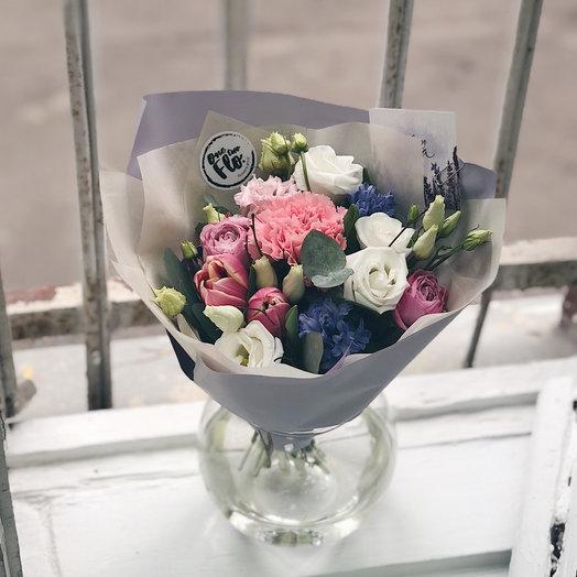 Весенний малыш - букетик: букеты цветов на заказ Flowwow