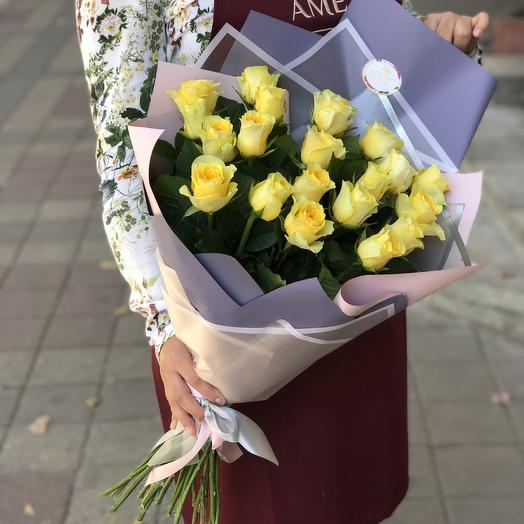 Яркое солнышко: букеты цветов на заказ Flowwow