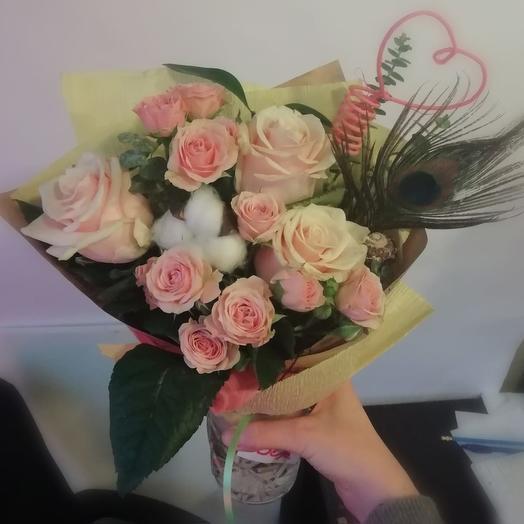 Нежная Королева: букеты цветов на заказ Flowwow
