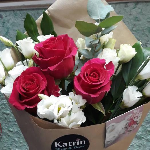 Французский букетик: букеты цветов на заказ Flowwow
