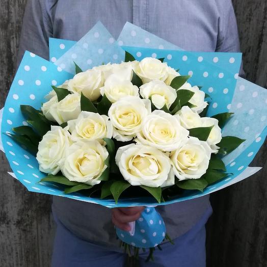 Белый бархат: букеты цветов на заказ Flowwow