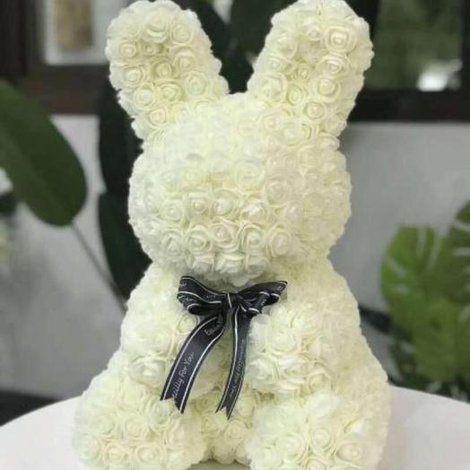 Заяц из роз: букеты цветов на заказ Flowwow