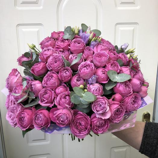 Букет «Розовый щербет»: букеты цветов на заказ Flowwow