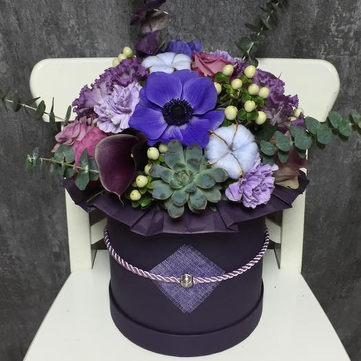 Magic Indigo: букеты цветов на заказ Flowwow