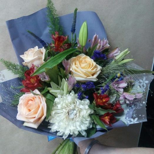 Голубой: букеты цветов на заказ Flowwow
