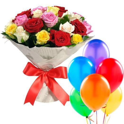 "Подарочный набор ""Дя нее"": букеты цветов на заказ Flowwow"