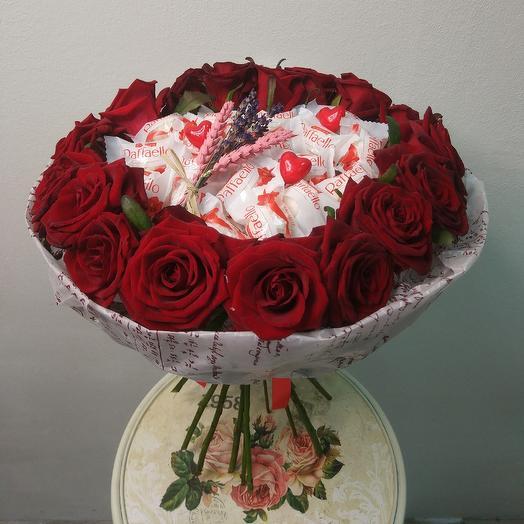 """""""Тайна сердца"""": букеты цветов на заказ Flowwow"""