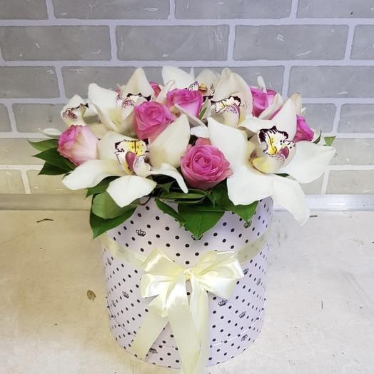 Нежная орхидея: букеты цветов на заказ Flowwow