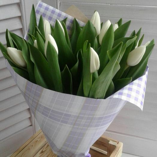 Bouquet of 15 tulips: flowers to order Flowwow