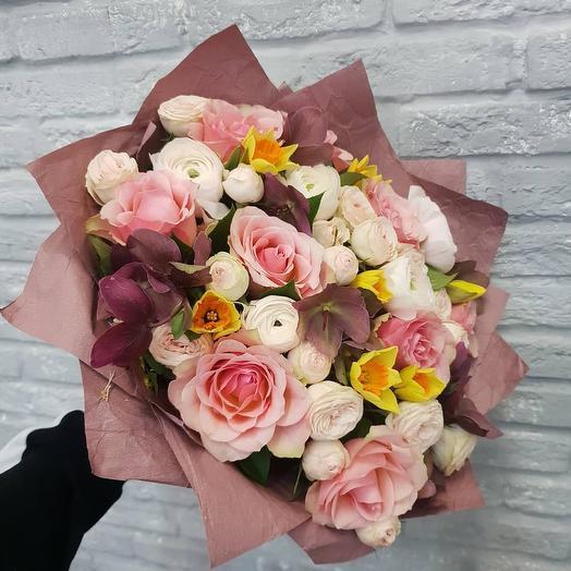 Розовый дым: букеты цветов на заказ Flowwow