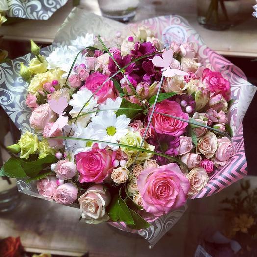 Букет «Воздушный»: букеты цветов на заказ Flowwow