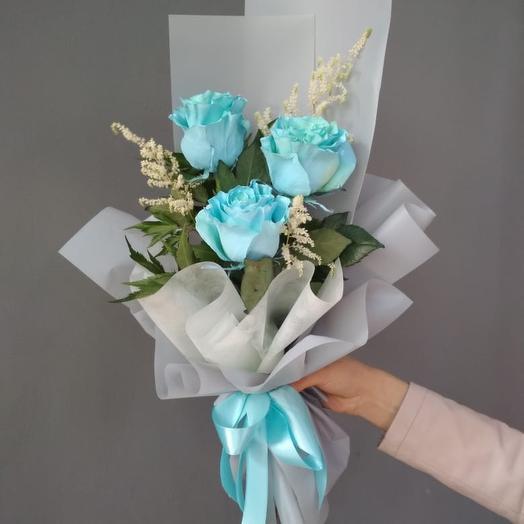 Три орешка: букеты цветов на заказ Flowwow