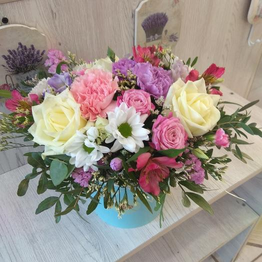 """Композиция """"Люблю!"""": букеты цветов на заказ Flowwow"""