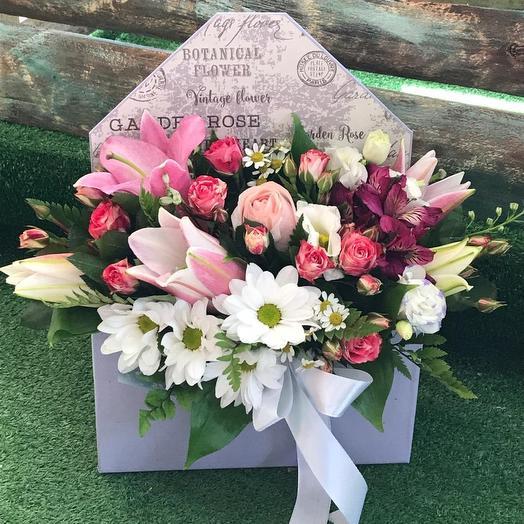Цветочное послание 💌💐💏: букеты цветов на заказ Flowwow