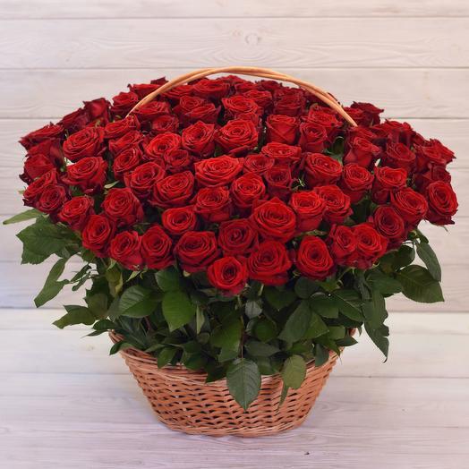 Корзина Императрица: букеты цветов на заказ Flowwow