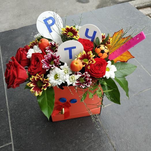Букет 1 класс на 1 сентября: букеты цветов на заказ Flowwow