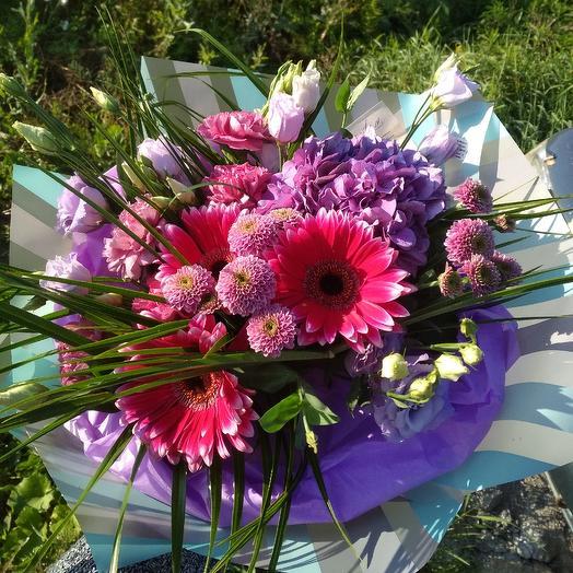 Фиолетовое очарование: букеты цветов на заказ Flowwow