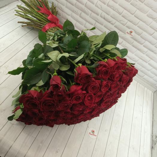 101роза для любимой: букеты цветов на заказ Flowwow