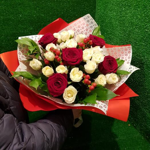 Букет ПреКРАСНЫЙ: букеты цветов на заказ Flowwow