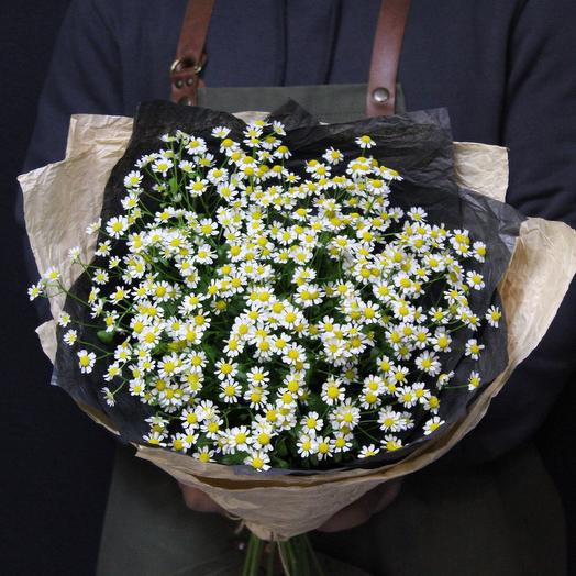 Ароматные ромашки🌼: букеты цветов на заказ Flowwow