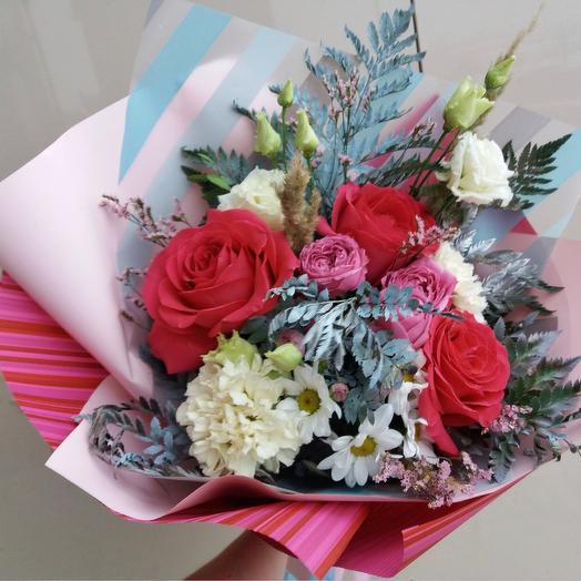 "Bouquet ""winter Lace"": flowers to order Flowwow"