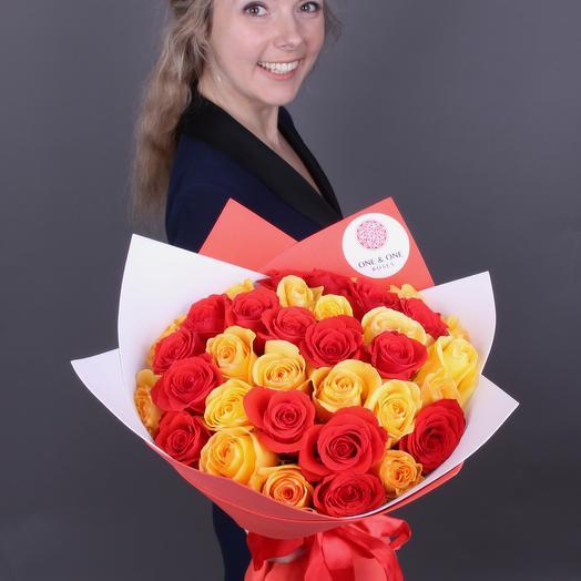 Солнечный микс! Для теперешней погоды :): букеты цветов на заказ Flowwow