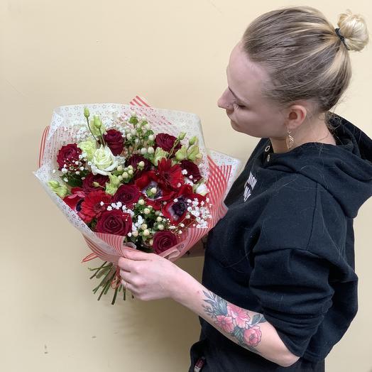 Red Stars: букеты цветов на заказ Flowwow