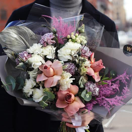 Букет «Остин»: букеты цветов на заказ Flowwow