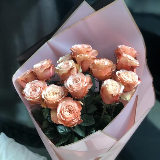 Розы пионовидные Восторг