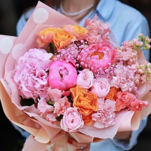 Красивый букет «Расцвет красоты»
