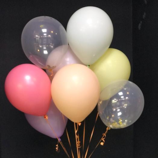 8 воздушных шаров