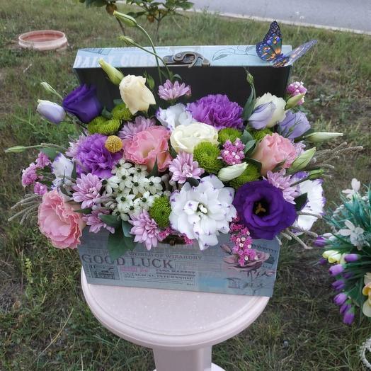 Сундучок с цветами